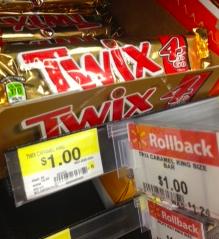 Twix Walmart