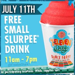 Free Slurpee Day 2014