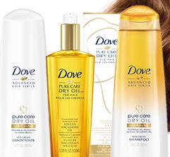 Dove Dry Oil