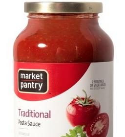 Target: Market Pantry Pasta Sauce – Only $.63 Each — FreebieShark ...