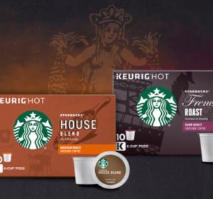FREE Starbucks Coffee K-Cup Sample Pack — FreebieShark.com