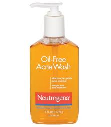 Walmart: Neutrogena Oil-Free Acne Wash - Only $1.77