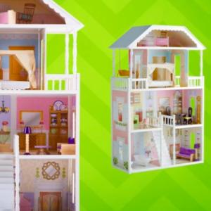 Hayneedle Kidkraft Savannah Dollhouse W Furniture Only Today Only