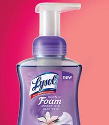Lysol Touch of Foam