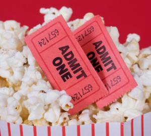 Popcorn Movie Tickets