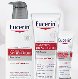Free Eucerin Diabetics Dry Skin Relief Body Creme Product First