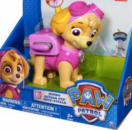 Amazon Paw Patrol Jumbo Action Pup Skye Toy Only 6 98