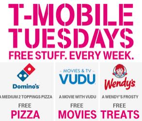 FREE Stuff for T-Mobile Customers on Tuesdays — FreebieShark com