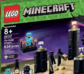 Target Cartwheel: 50% off LEGO Minecraft The Ender Dragon