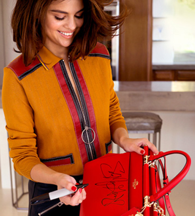5fbb8b41 Enter to Win 1 of 150 FREE Coach Bags Signed by Selena Gomez ...