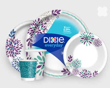Stock up on Dixie Paper Plates for the upcoming holidays with this easy deal  sc 1 st  Freebie Shark & Walmart: Dixie 48-Count Paper Plates \u2013 Only $2.03 \u2014 FreebieShark.com