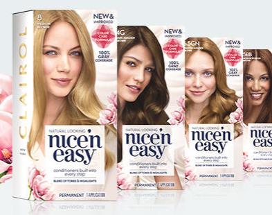 FREE Sample of Clairol Nice \'n Easy Hair Color (Working Again ...