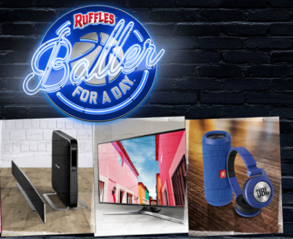 Ruffles 'Baller For a Day' Instant Win Game (68 Winners