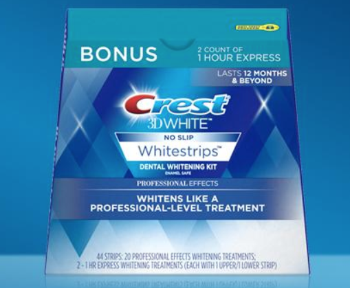 Amazon Crest 3d White Whitestrips Only 12 99 Freebieshark Com