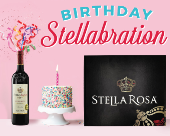 If Youre Over The Age Of 21 Hurry Here To Possibly Score A FREE Stella Rosa Birthday Cake Lip Balm Product First 10000 Who Fill Out Form