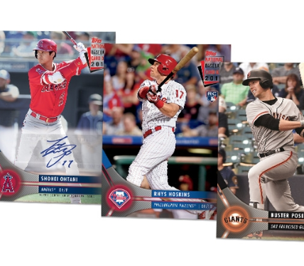 Free Topps Baseball Cards At Participating Stores August