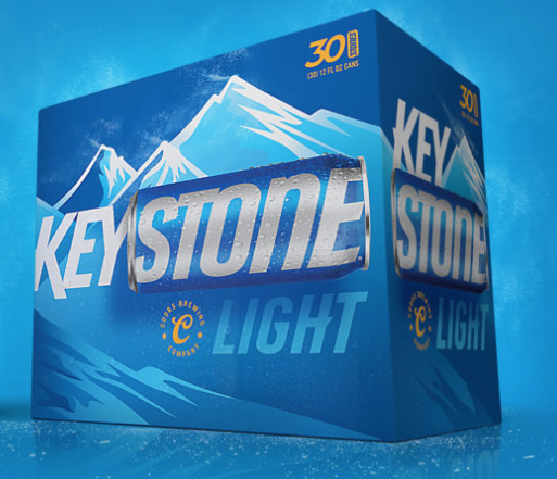 How many orange keystone cans are there 2018