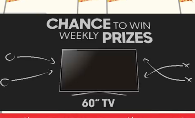 Pizza Hut Rewards 'Game Plan' Sweepstakes (1,068 Winners