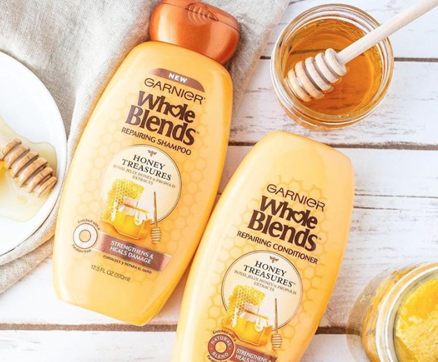 Free garnier fructis brazilian smooth haircare sample.
