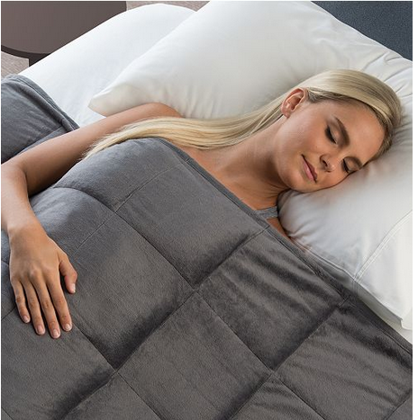 Macyscom 10 Pound Sharper Image Weighted Blanket Only 7999