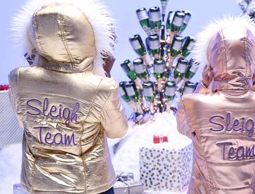 Barefoot Wine Sleigh Team Jacket Sweepstakes