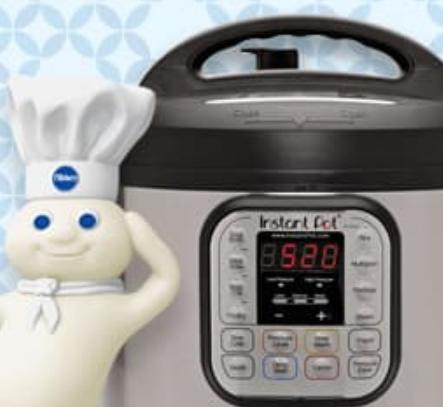 Enter to Win 1 of 25 FREE Instant Pots from Pillsbury — FreebieShark com