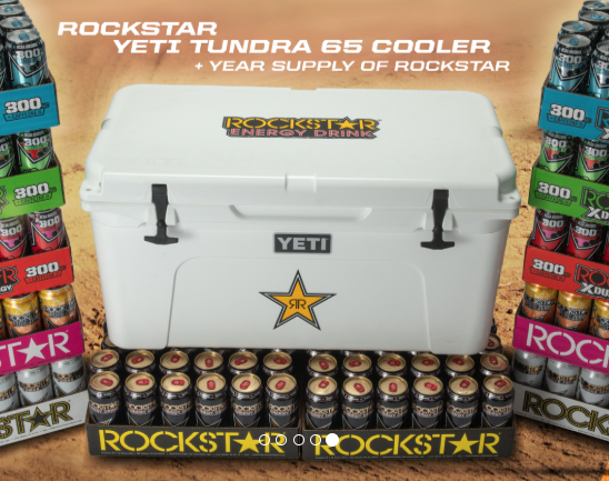 Rockstar Energy 'Energize Your Summer' Sweepstakes (20 Winners