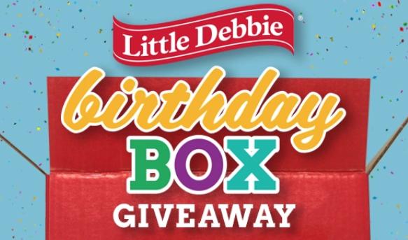 Little Debbie Birthday Box Sweepstakes — FreebieShark com