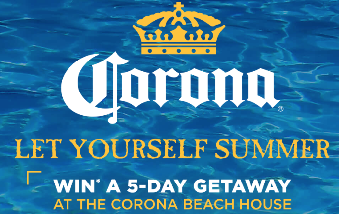 "Corona ""Let Yourself Summer"" Sweepstakes (5 Winners!) — FreebieShark com"