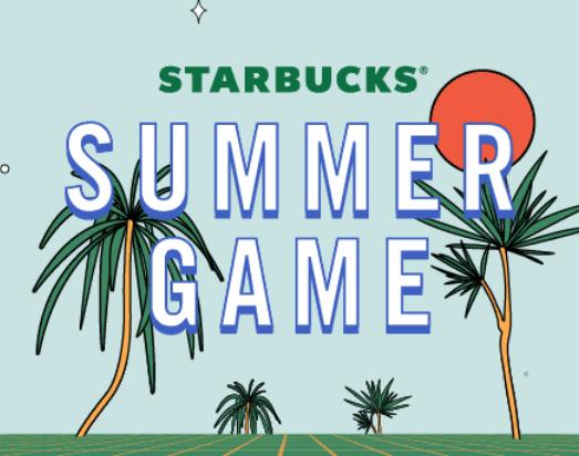 Starbucks Summer Instant Win Game (1 Million Win FREE Bonus Stars