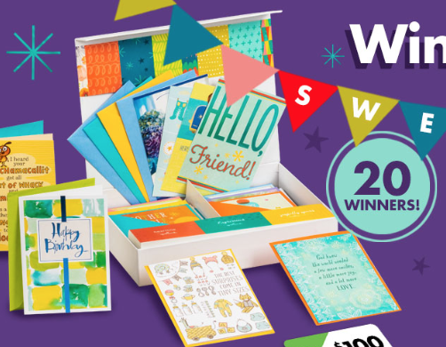 Dollar Tree 'Win a Year of Cards' Sweepstakes (20 Winners