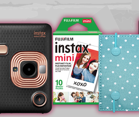 Enter to Win 1 of 9 FREE Fujifilm Instax Bundles
