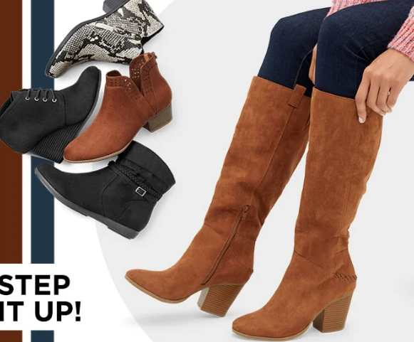 JCPenney.com: Buy 1 Pair of Boots \u0026 Get