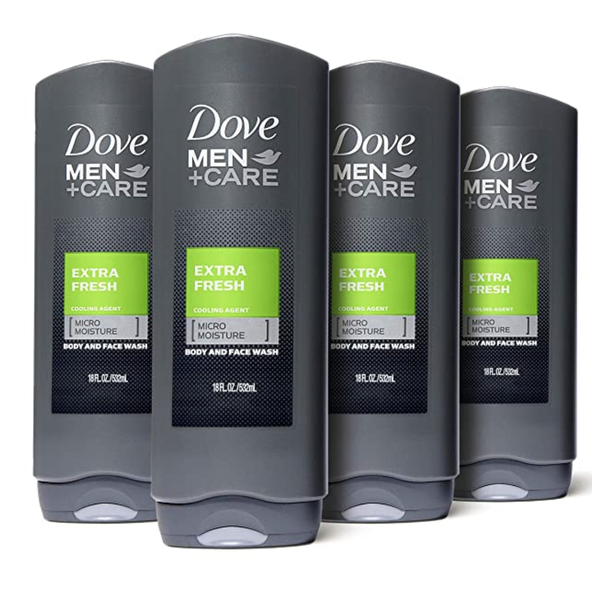 Amazon Dove Men Care Body Wash 4 Pack Only 13 32 Freebieshark Com