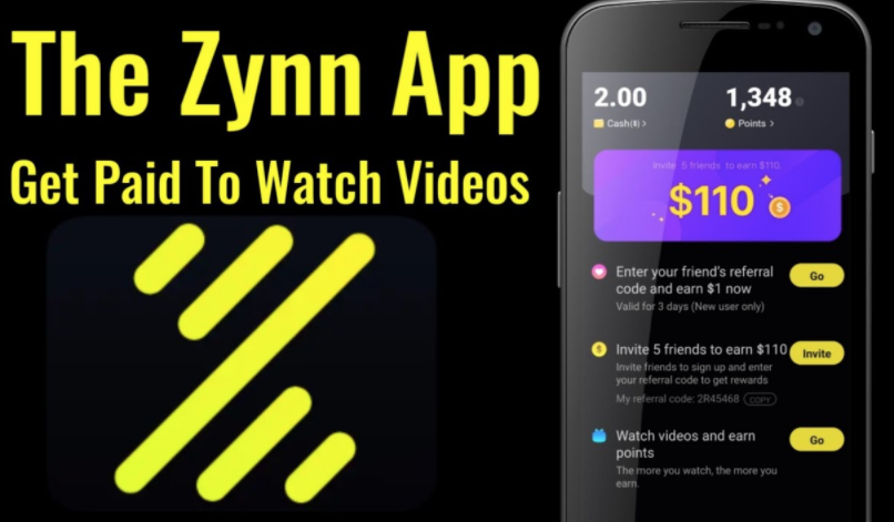Zynn Earn Free Money Or Gift Cards Mobile App Freebieshark Com
